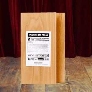 smokin flavours ceder houtenplanken