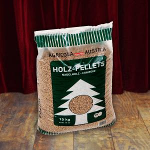 Agricola Hout Pellets 100% naaldhout 15kg