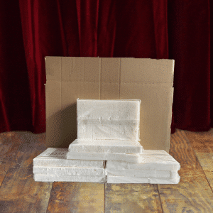 Voordeeldoos Witte Aanmaakblokjes 32 Stuks - omdoos 32 pakjes